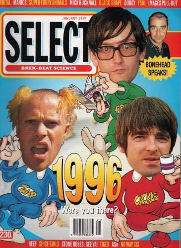 Select Magazine January 1997 page 00