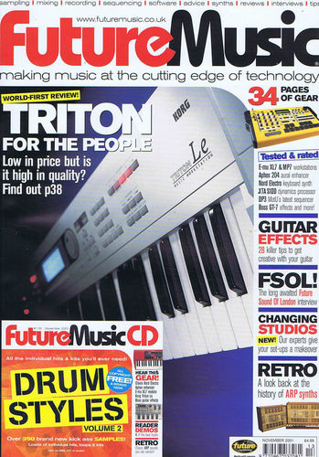 FUTURE MUSIC (UK) NOVEMBER 2001 Issue 115 page 1