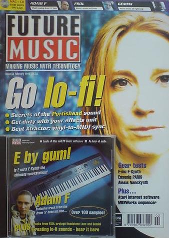 FUTURE MUSIC (??) FEBRUARY 1998 Issue 66