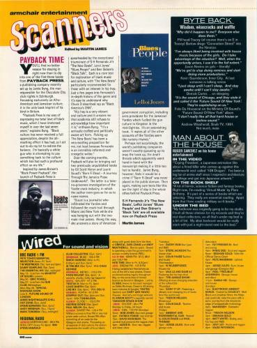 MUZIK (UK) JUNE 1995 Issue 1 page 88