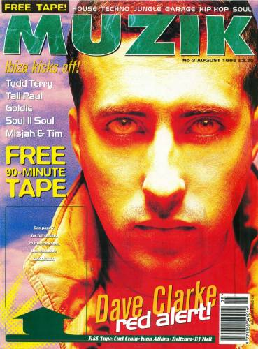 MUZIK (UK) AUGUST 1995 Issue 1 page 1