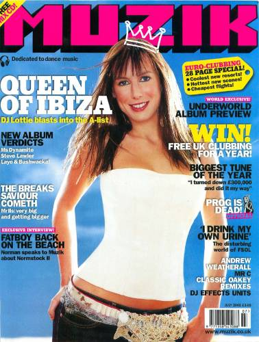 MUZIK (UK) JULY 2002 Issue 86 page 1
