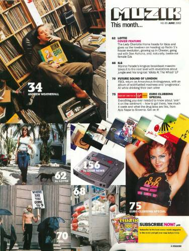 MUZIK (UK) JULY 2002 Issue 86 page 3
