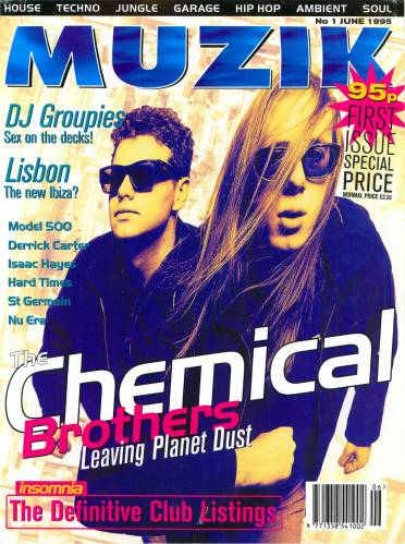 MUZIK (UK) JUNE 1995 Issue 1 page 1