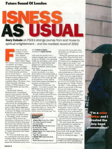 MUZIK (UK) JULY 2002 Issue 86 page 70