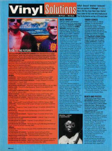 MUZIK (UK) SEPTEMBER 1995 Issue 4 page 88