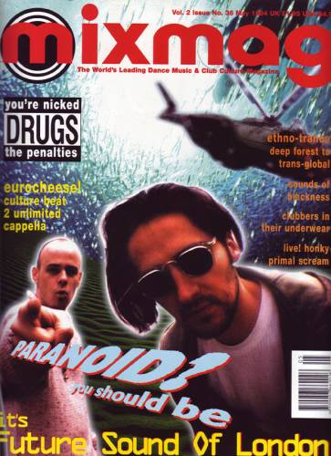 MIXMAG (UK) MAY 1994 Vol.2 Issue 36