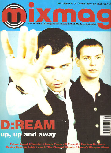 MIXMAG (UK) OCTOBER 1993 Vol 2 Issue 29 page 1