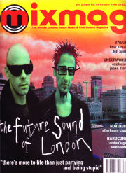 MIXMAG (UK) OCTOBER 1996 Vol 2 Issue 65 page 1