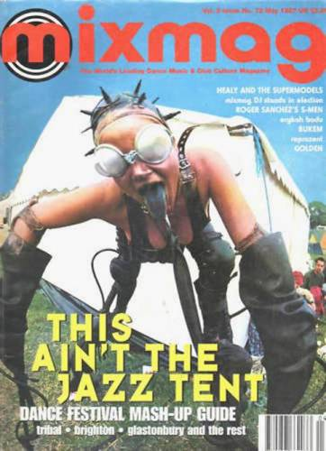 MIXMAG (UK) MAY 1997 Vol 2 Issue 72 page 1