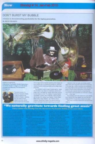SHINDIG! (UK) JANUARY-FEBRUARY 2010 Issue 14 page ?