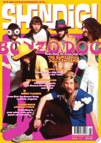 SHINDIG! (UK) JANUARY-FEBRUARY 2010 Issue 14 page 1