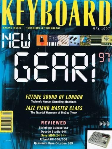 KEYBOARD MAGAZINE (?) MAY 1997