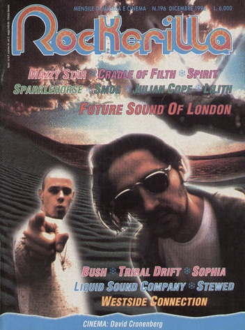 ROCKERILLA (IT) DECEMBER 1996 Issue 196
