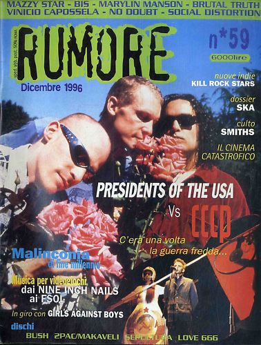 RUMORE (IT) DECEMBER 1996 Issue 59