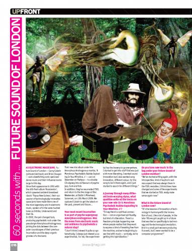 DJ MAG (UK) DECEMBER 2008 Vol.4 Issue 68 page 16