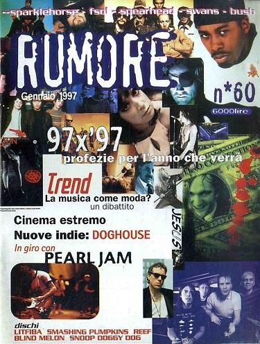 RUMORE (IT) JANUAR 1997 Issue 60