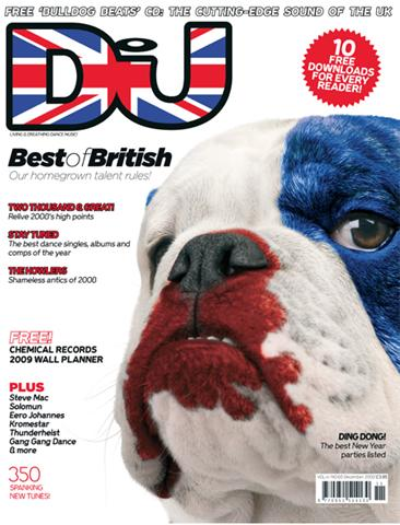 DJ MAG (UK) DECEMBER 2008 Vol.4 Issue 68