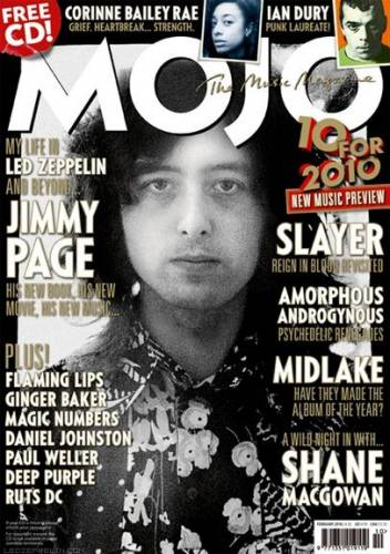 MOJO (UK) FEBRUARY 2010 Issue 195 page 1